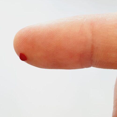 Testarea HEMOGLOBINEI GLICOZILATE (HbA1c) din deget